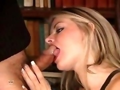 Mature Blonde Get down and dirty & Suck cock