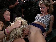 Anal, Blonde, Brutal, Domination, Groupe, Humiliation, Orgie, Esclave