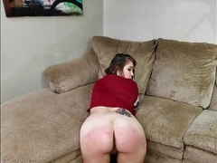 The Brat Gets Leashed - (Spanking)
