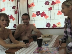 Mature couple lure his 18-19 year old gf