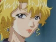 Pretty anime gals having sex