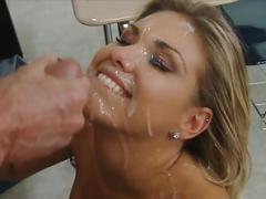 Сперма на лице