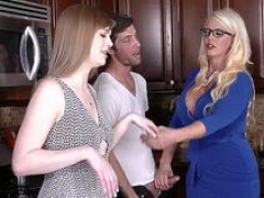 Non-pro brunette gives bj big love tool and moreover associate playfellows sister takes  cronys