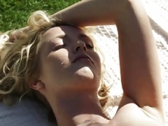 Karen Fisher and besides Karla Kush licking each separate extra out