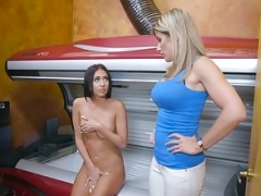 Brazzers - Hot And also moreover Mean - Tight And also moreover Tanned Piece 1 scene star