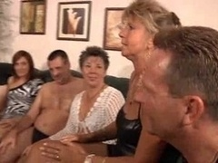 GRANNY PRIVATE PARTY  MILF...