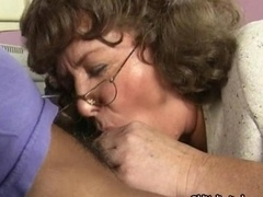 Dirty aged sucking and besides kissing