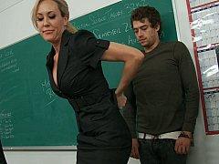 Большие сиськи, Блондинки, Женщины, Секс без цензуры, Милф, В офисе, Чулки, Учитель