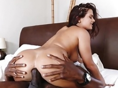 Black Purple rod for Keisha's Big Ass