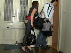 Nani and additionally her boyfriend renting Mike's Apartment