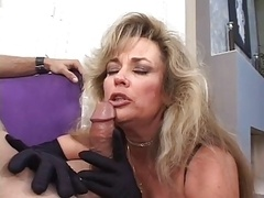 Hot Cougar Anjelica Fox Smoking Fellatio