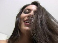 Spanish chick Carolina Abril banging hard in POV