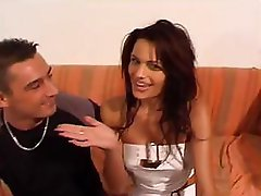 Nina Roberts gets some nice pussy licking and additionally banging in on the couch