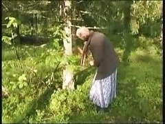 Granny Gets Her Tree He Gets Her...
