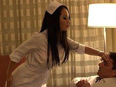 Asiatique, Sucer une bite, Brunette brune, Médecin, Mère que j'aimerais baiser, Argent, Infirmière, Uniforme