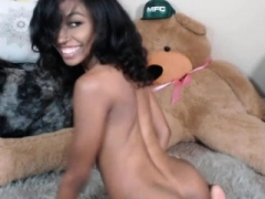 Ebony Self-satisfaction 4