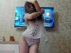 do your exgirlfriend strip like this for you? feature