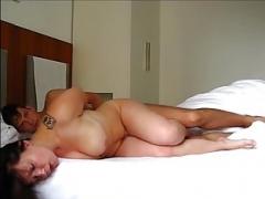 Mit Hochimins morgens im Hotel