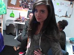 Gorgeous fearless babe loves college sex