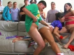Frat party turned into sex ed class when these sluts showed up
