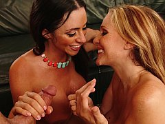 Sexy Wives Enjoy Sharing Cock While On Vacation