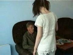 Grandpa Fucking Youthful Maid