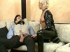 Kinky latex Woman