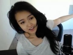 素人, アジア人, 中国人, オナニー, 一人, ウェブカメラ