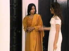 immature indian desi teen takes a shower