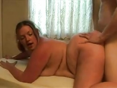 Real bbw gets fucked hard doggy style
