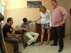 Husband Share Her Wife With Youn...