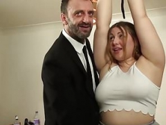 British Big beautiful women rammed & punished by kinky more experienced man
