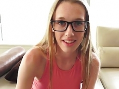 Mofos - Pervs On Patrol - Blonde in Glasses Banged Doggystyl