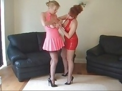 British Lesbians Playing With To...