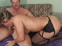 Horny Mom i`d like to fuck DRILLED BY Less aged COCK...usb