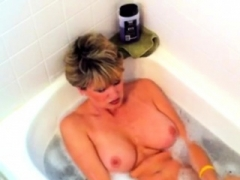 Non-professional Wife swallow cum
