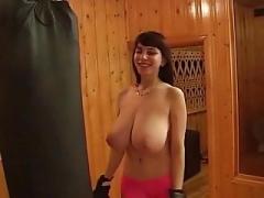 yulia nova working out