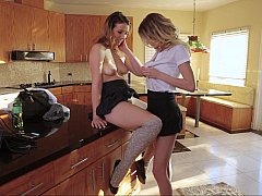 Dirty high-school lesbians