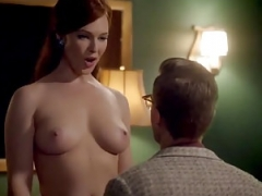 Erin Cummings Undressed Scene In Masters of Sex ScandalPlanet.Com