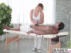 Girls - Black is Better - Full-Body Massage starring Anna Polina and Franco Roccoforte clip