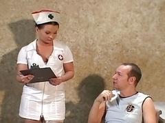 Grossier, Infirmière, Jarretelles, Uniforme