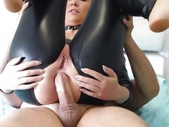 Anal, Negro, Látex, Puta