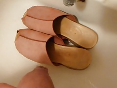 Piss in wifes clogs