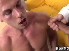Big dick daddy casting with cumshot