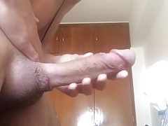 Jerking out a small nut