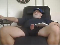 Dad Bear Cums