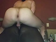 white top fucks fat black ass