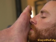 Toelicked stud edged after working out