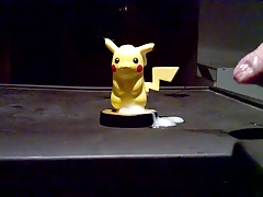 Pikachu Amiibo SoF Bukkake
