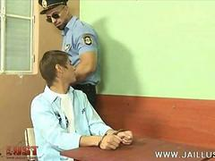 Young troublemaker subjected to oral punishment
